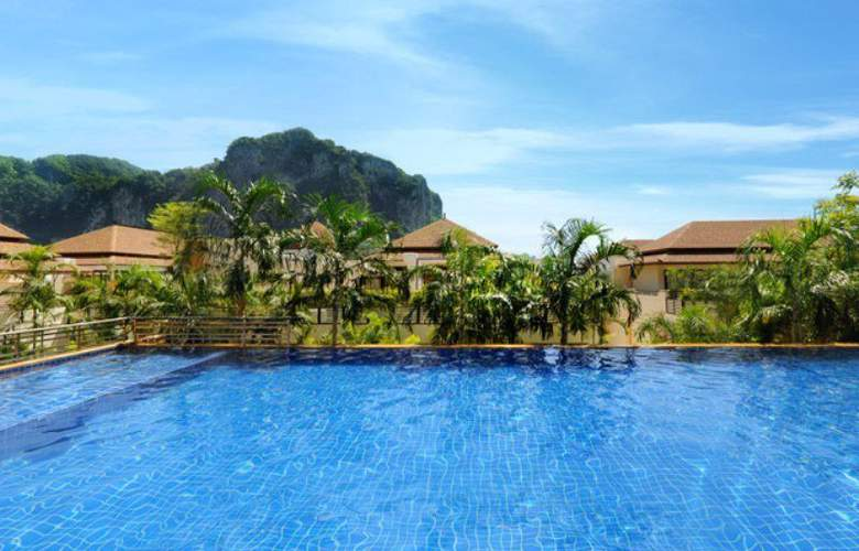 Aonang Cliff Beach Resort - Pool - 9