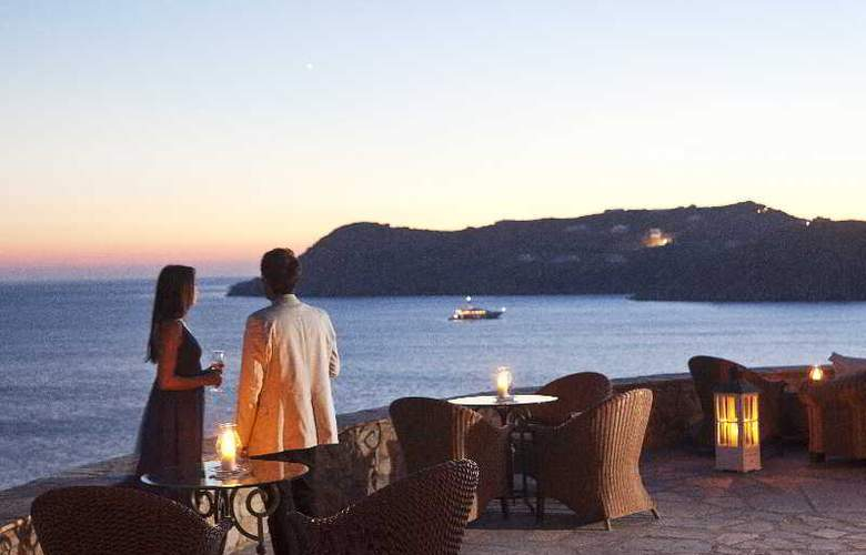 Myconian Imperial Hotel and Thalasso Center - Restaurant - 19