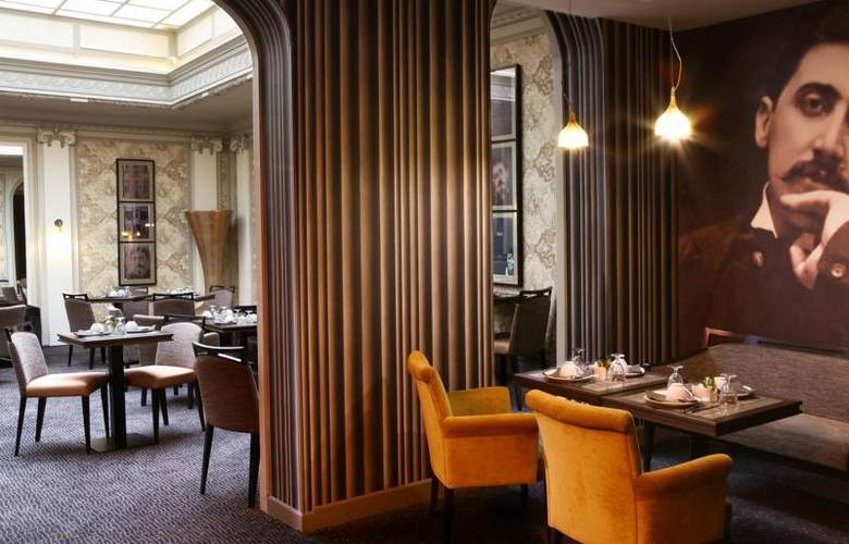 Best Western Hôtel Littéraire Premier Le Swann - Restaurant - 132