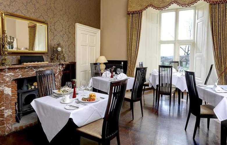Best Western Walworth Castle Hotel - Restaurant - 89
