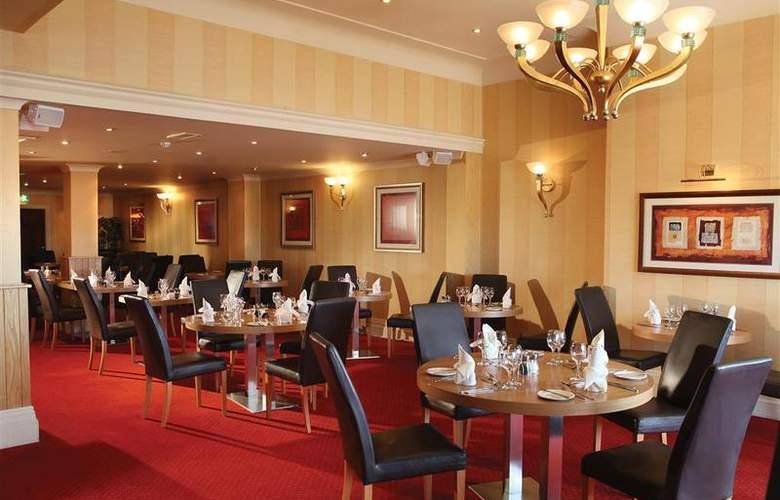 Best Western Glendower - Restaurant - 167