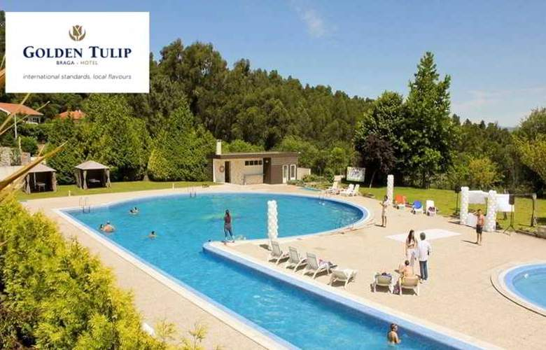 Golden Tulip Braga - Pool - 34
