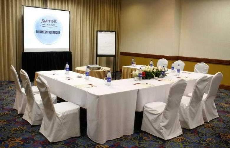 Marriott Hotel Tegucigalpa - Conference - 5
