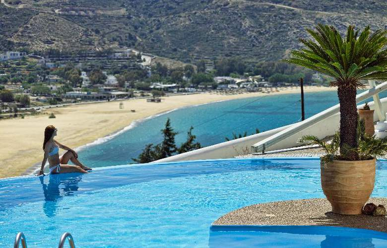 Levantes Ios Boutique Hotel - Pool - 20