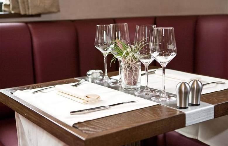 Best Western Hotel Des Francs - Restaurant - 25