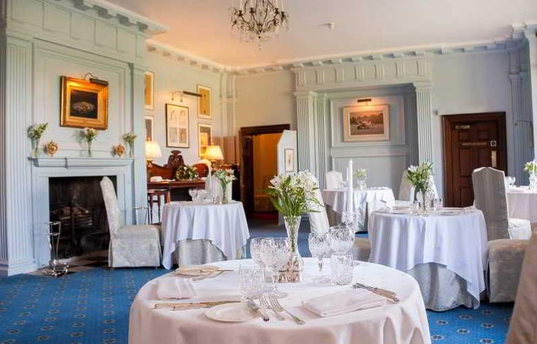 Llangoed Hall Hotel - Restaurant - 12