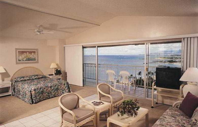 Castle Waikiki Shore Beachfront - Room - 3