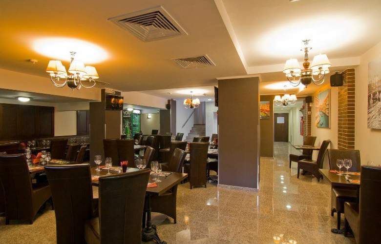 West Plaza Hotel Bucharest - Restaurant - 2