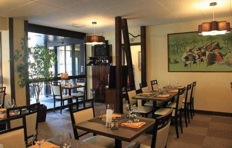 Qualys Hotel D´Alsace - Restaurant - 12