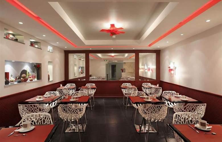 Best Western Premier Louvre Saint-Honoré - Restaurant - 18