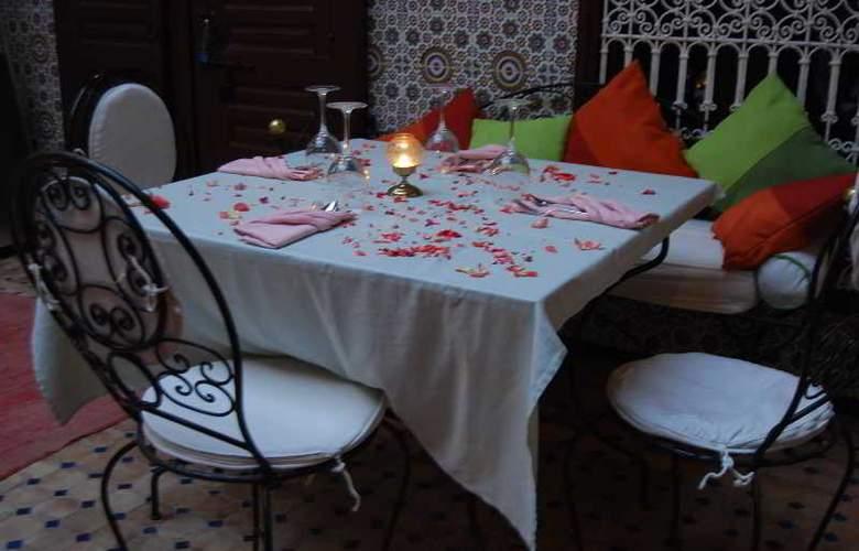 Riad Les Oliviers - Restaurant - 16
