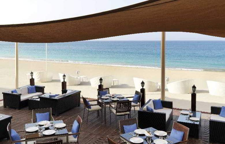 The Radisson Blu Resort Fujairah - Restaurant - 19