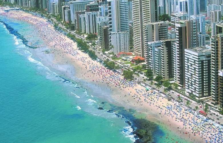 Recife Monte Hotel - Beach - 21