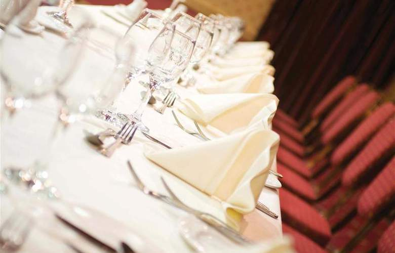 Best Western Glendower - Restaurant - 145