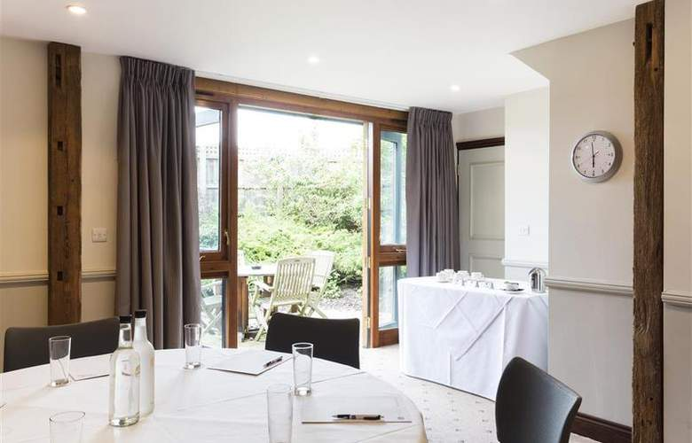 Best Western Cambridge Quy Mill Hotel - Sport - 129