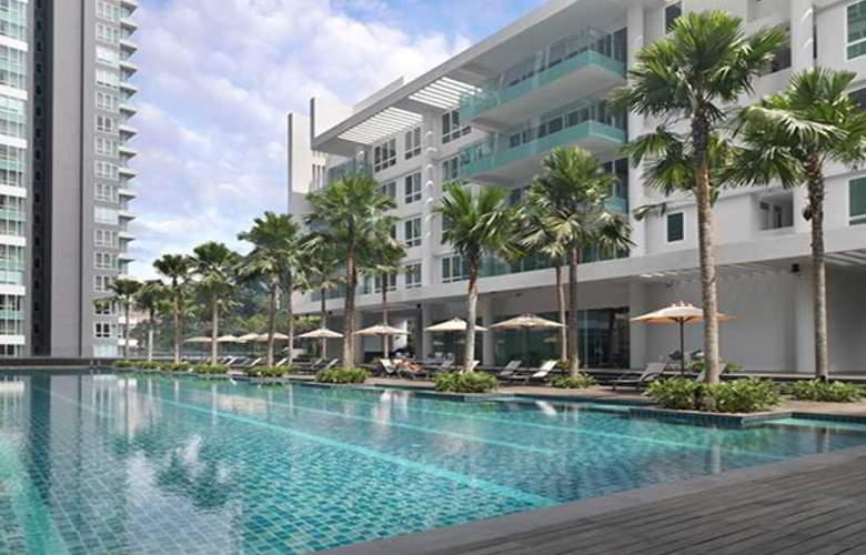 Lanson Place Bukit Ceylon Serviced Residences - Pool - 2