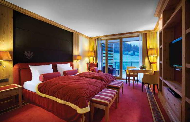 Das Tirol Kempinski - Room - 3
