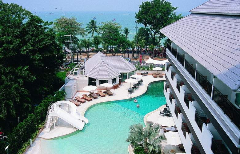 Pattaya Discovery Beach Hotel - Pool - 23