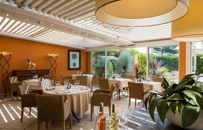 Best Western Hotel Montfleuri - Restaurant - 102