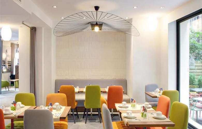 Best Western Plus 61 Paris Nation - Restaurant - 24