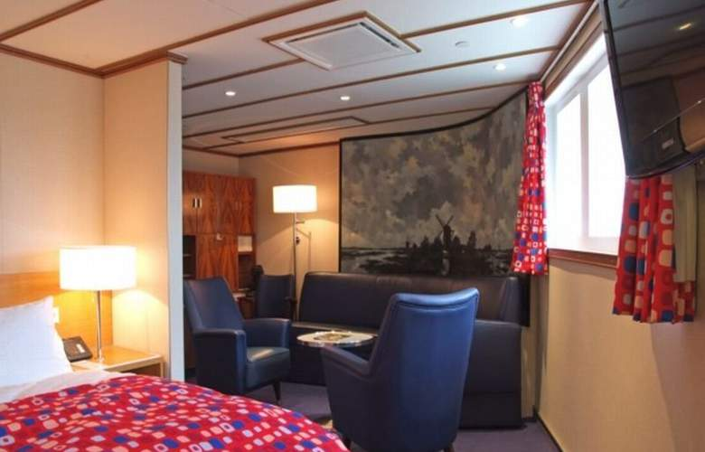 SS Rotterdam by Westcord Hotels - Room - 9