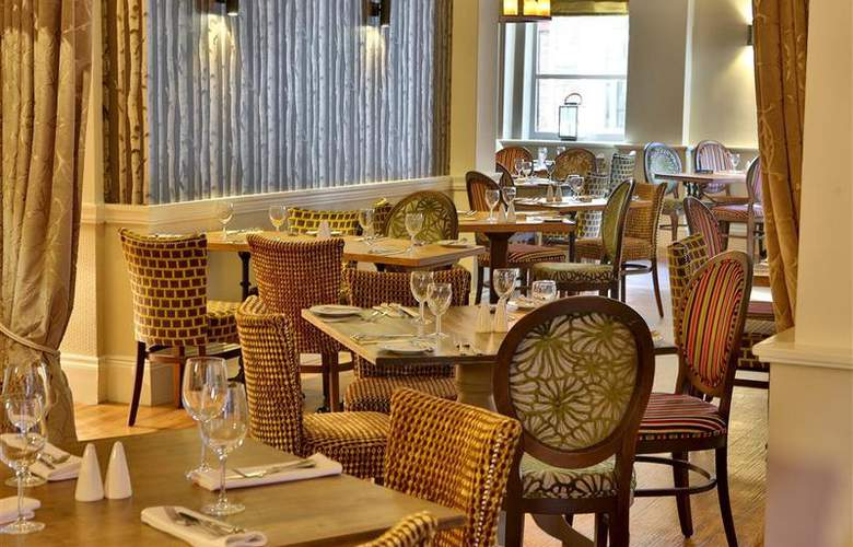 Best Western George Hotel Lichfield - Restaurant - 121