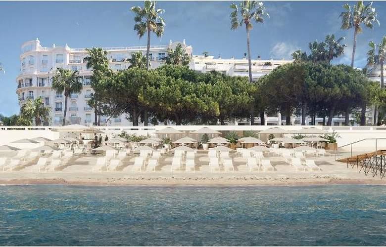 Hôtel Croisette Beach Cannes - MGallery by Sofitel - Beach - 4