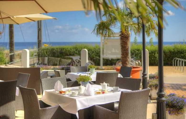 Strandhotel Atlantic & Villa Meeresstrand - Terrace - 5