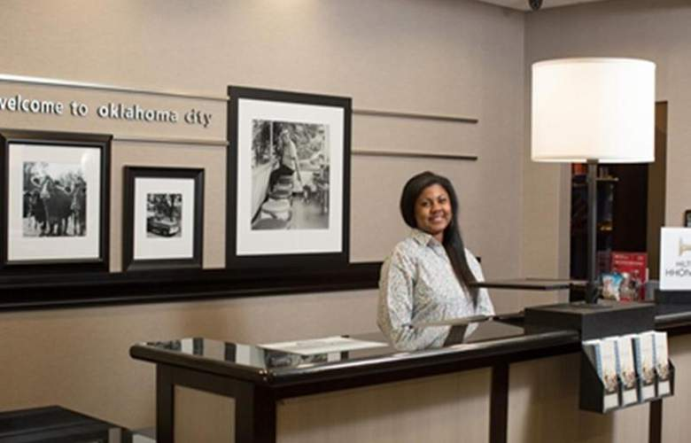 Hampton Inn and Suites Oklahoma City Airport - General - 6