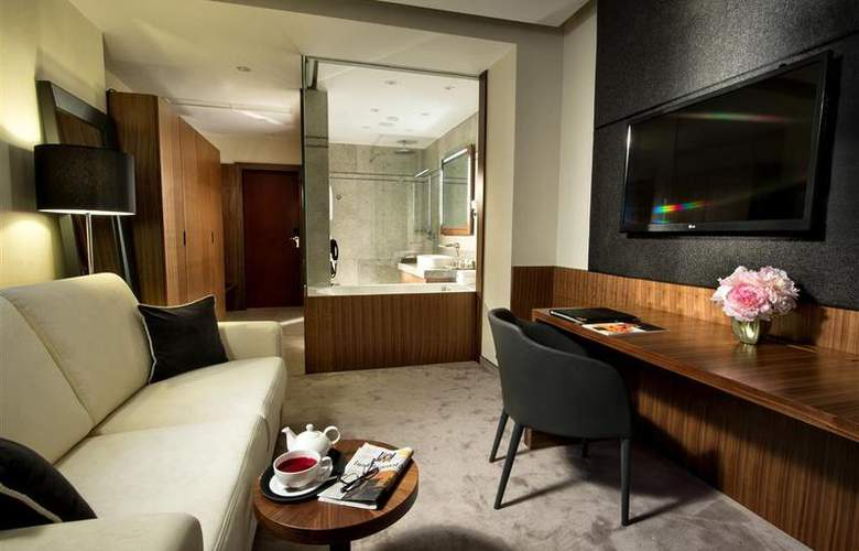 Best Western Premier Slon - Room - 2