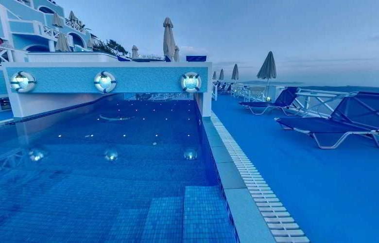 Kafieris Blue Apartments - Pool - 5
