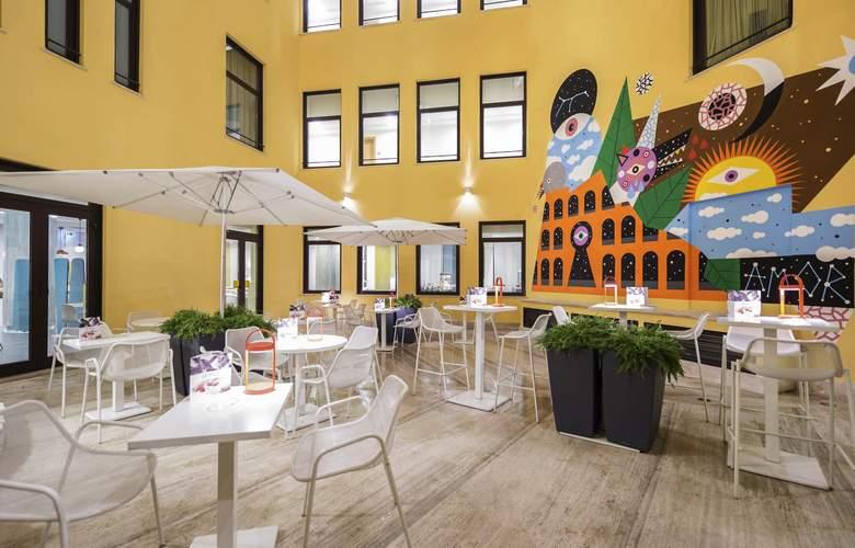 Mercure Roma Piazza Bologna - Terrace - 6