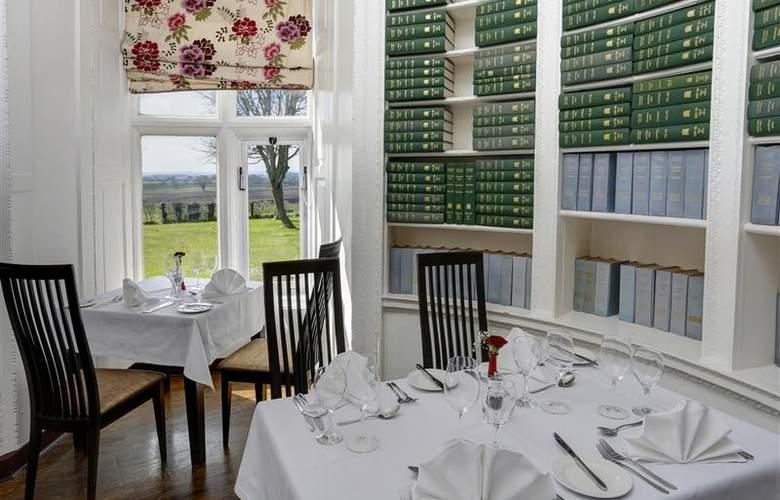 Best Western Walworth Castle Hotel - Restaurant - 86