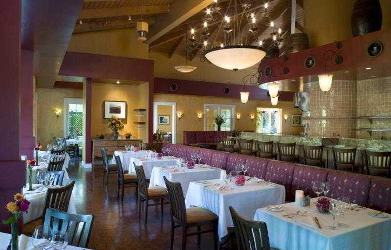 The Lodge at Sonoma Renaissance Resort & Spa - Restaurant - 8