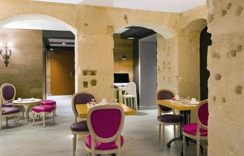 Best Western Premier Marais Grands Boulevards - Restaurant - 24
