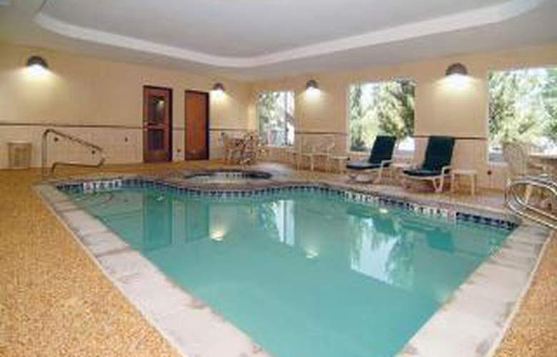 Comfort Suites Salt Lake Eastside Belt Route - Pool - 5