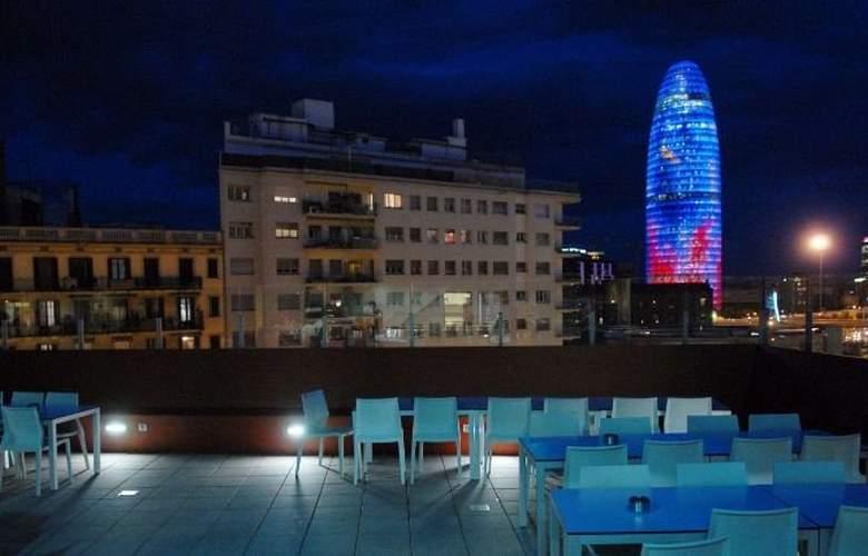 Barcelona Urbany Hostel - Terrace - 2