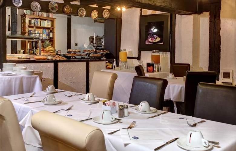 Best Western Donnington Manor - Restaurant - 39