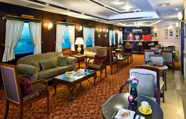 Orient Express Hotel - Sirkeci Group - Bar - 29
