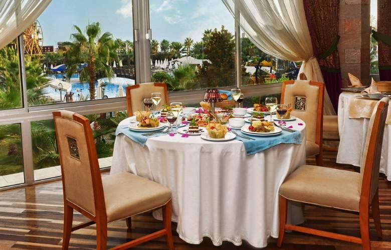 Mukarnas Spa Resort - Restaurant - 9