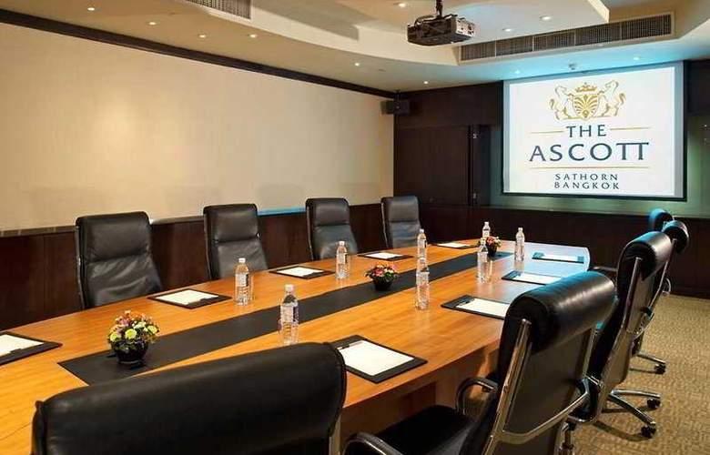 Ascott Sathorn Bangkok - Conference - 7