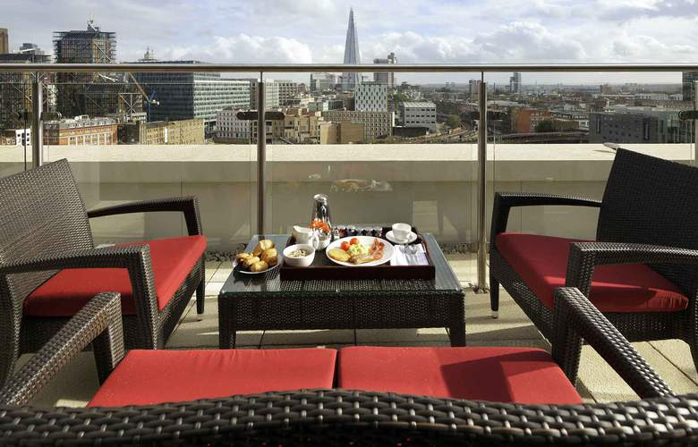 Novotel London Blackfriars - Terrace - 7