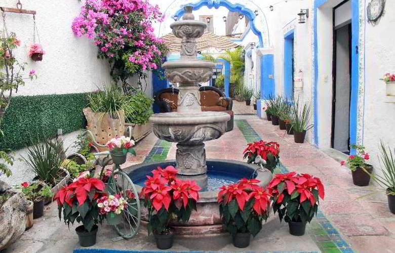 Hotel & Spa Mansion del Burro Azul - Hotel - 8