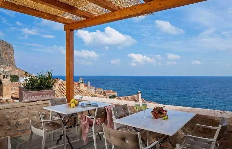 Moni Emvasis Luxury Suites - Terrace - 2