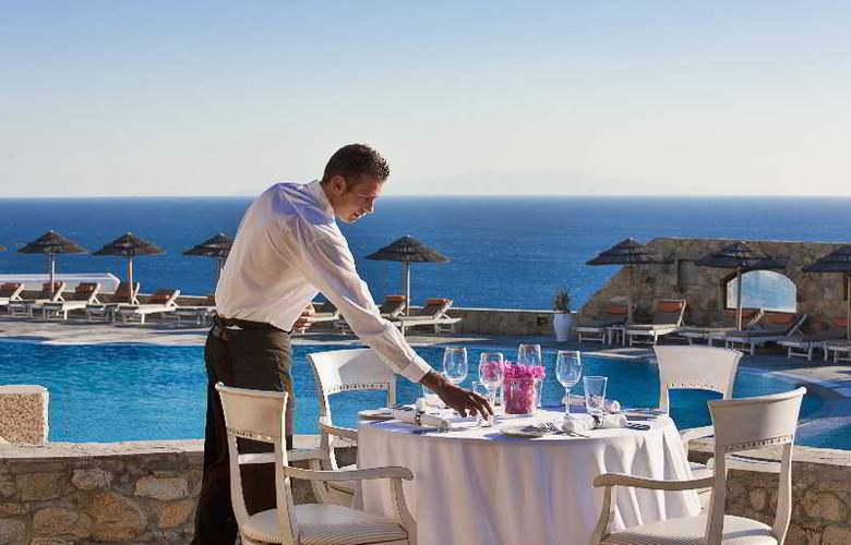 Royal Myconian Resort & Thalasso Spa Center - Restaurant - 20