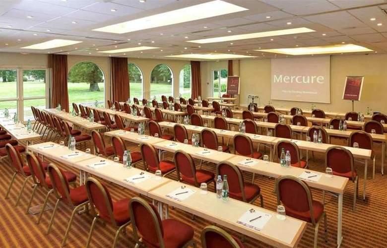 Mercure Le Coudray Montceaux Parc du Coudray - Conference - 55