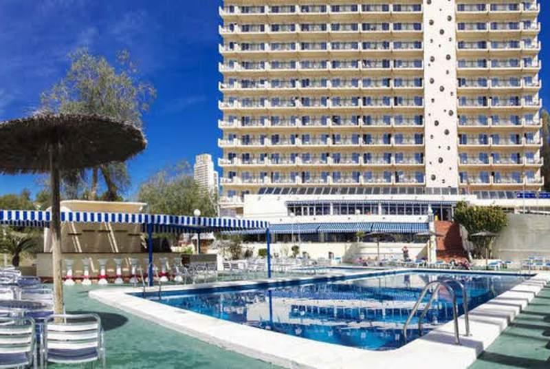 Hotel poseidon playa desde 46 benidorm for Hotel poseidon playa